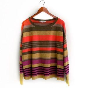 Beautiful LOFT Fall Colorblock Sweater